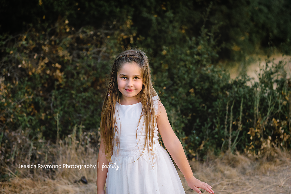 escondido family photographer family photos escondido family pictures girl in white dress