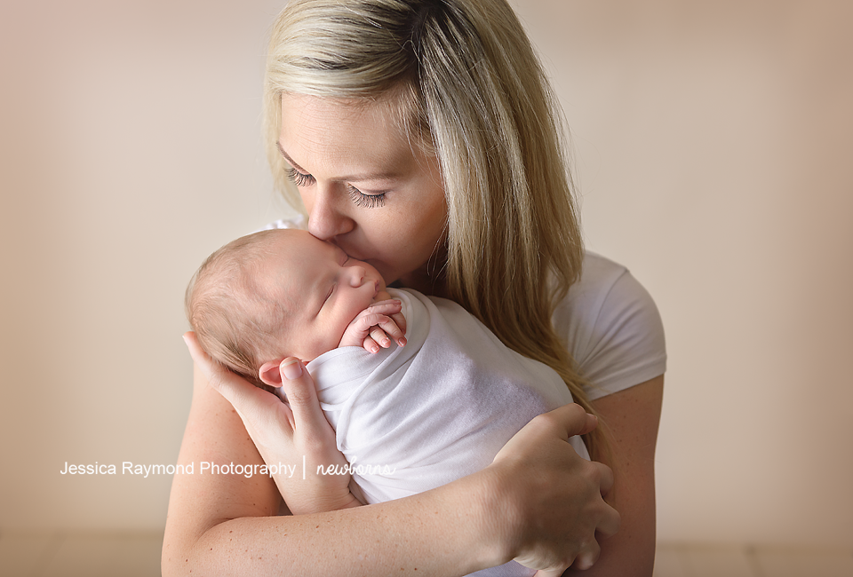 carlsbad newborn and family photographer baby photography mom baby pose