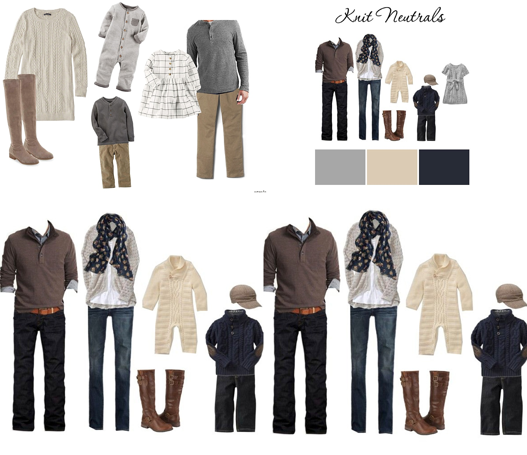 what to wear for family photos fall winter outfit ideas