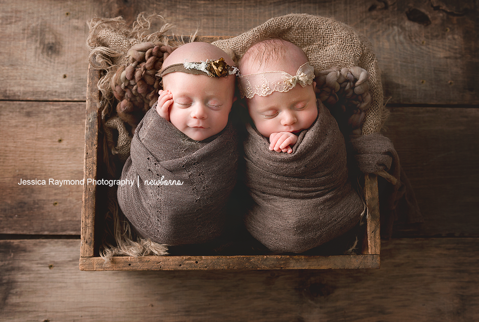 san diego twins photographer newborn twins in crate newborn twins pictures