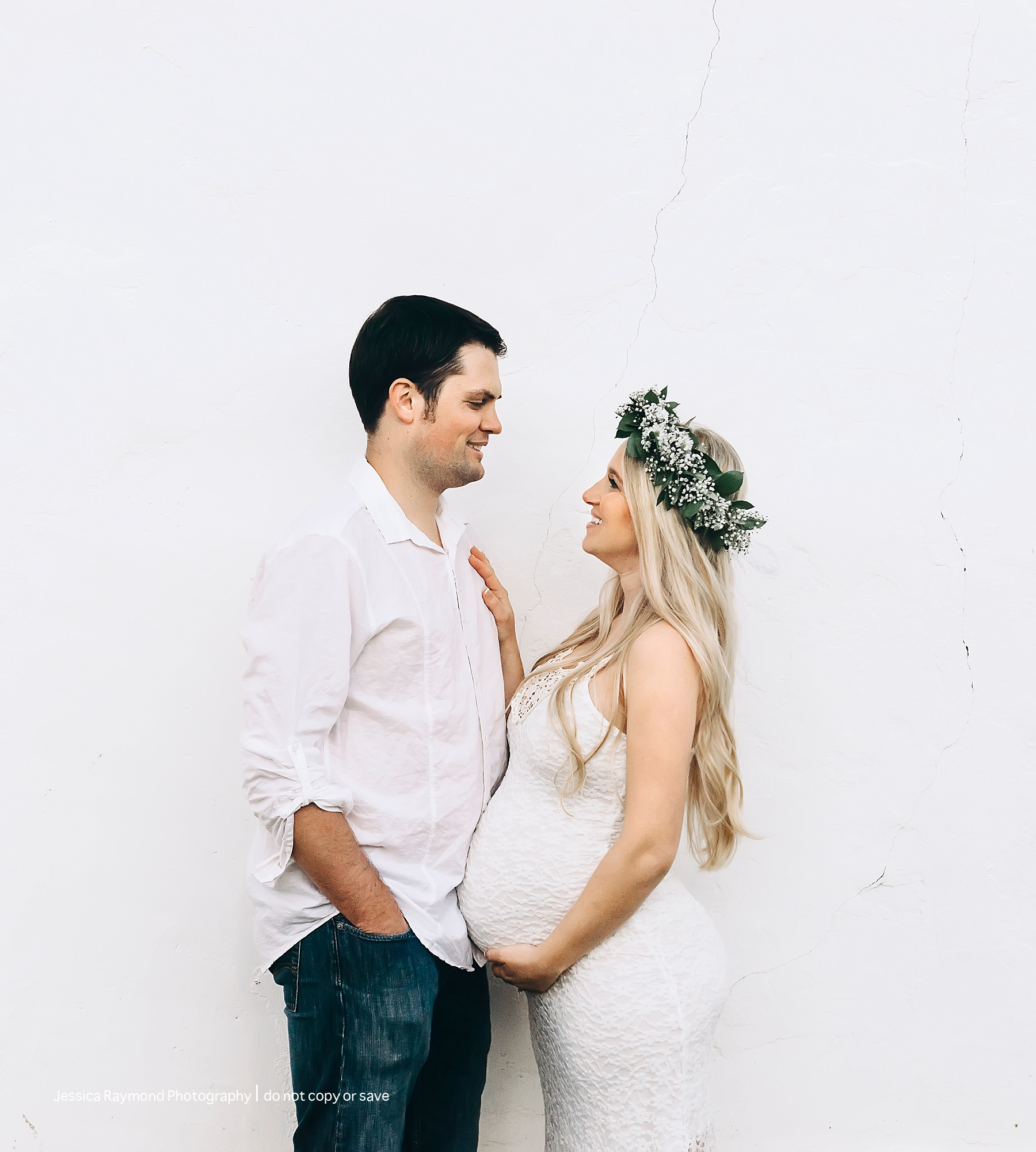 maternity and newborn photographer in san diego couple pose