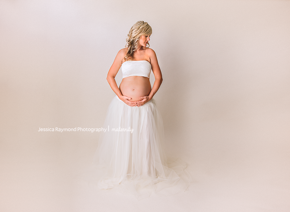 maternity pictures studio maternity session san diego california sew trendy white maternity gown