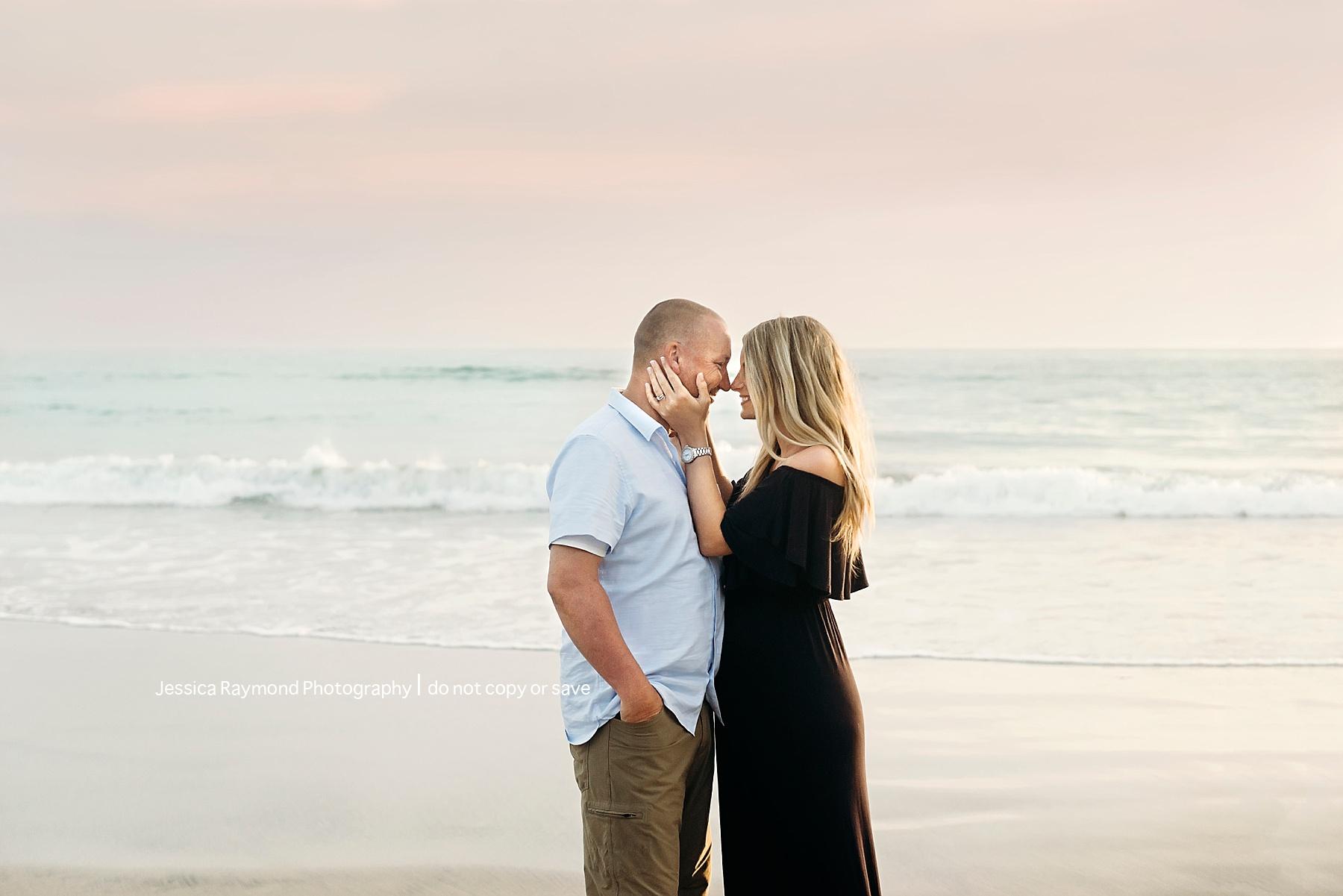 pregnancy beach photography couple