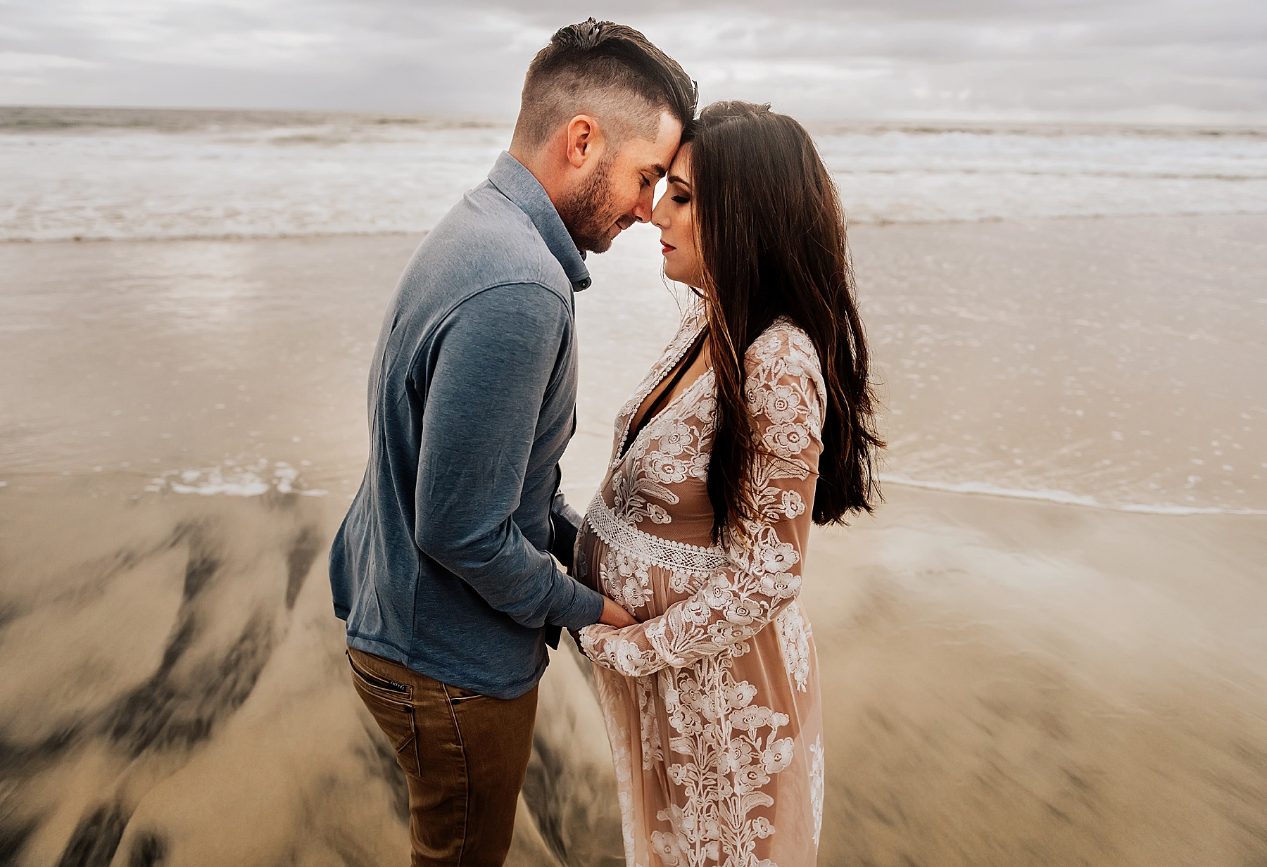 del mar beach maternity pictures